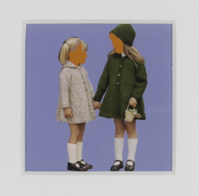 Karri A Dieken   Sirdar's Jackets , 2011  Serigraph and archival inkjet print