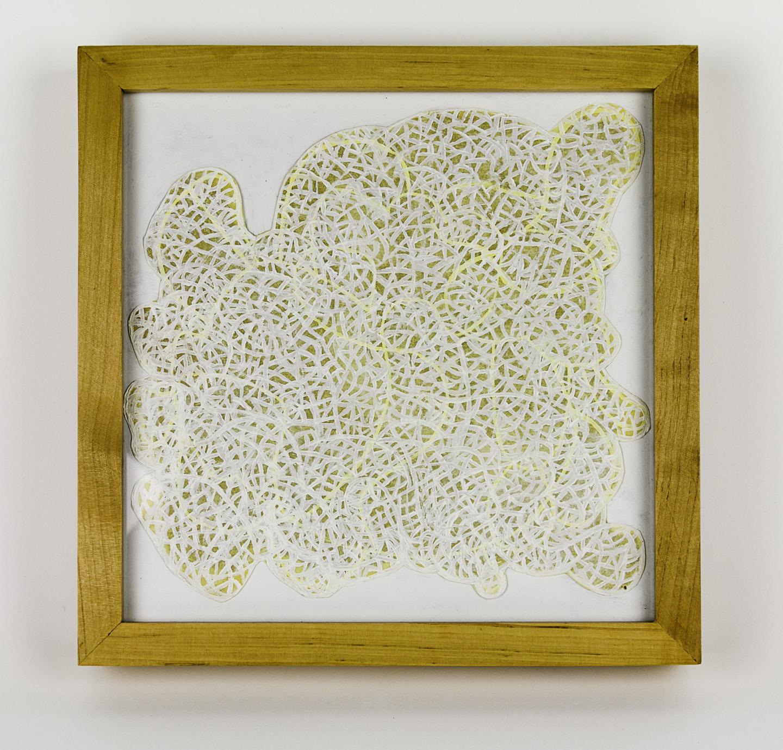 Michelle Acuff   Convolusion , 2010  Oil on paper