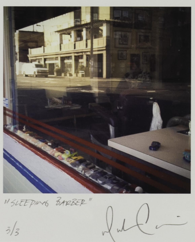 Minh Carrico   Sleeping Barber , 2011  Digital capture, archival inkjet print