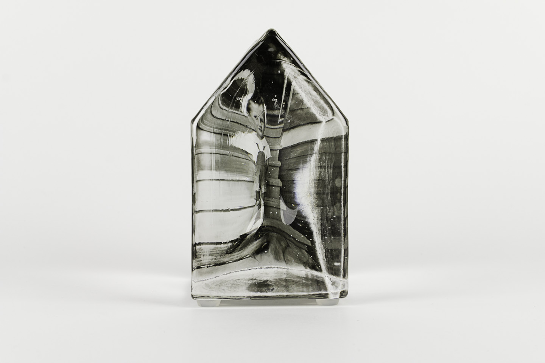 Theresa Batty   Albert the Guardian , 2011  Photo-sensitized cast glass