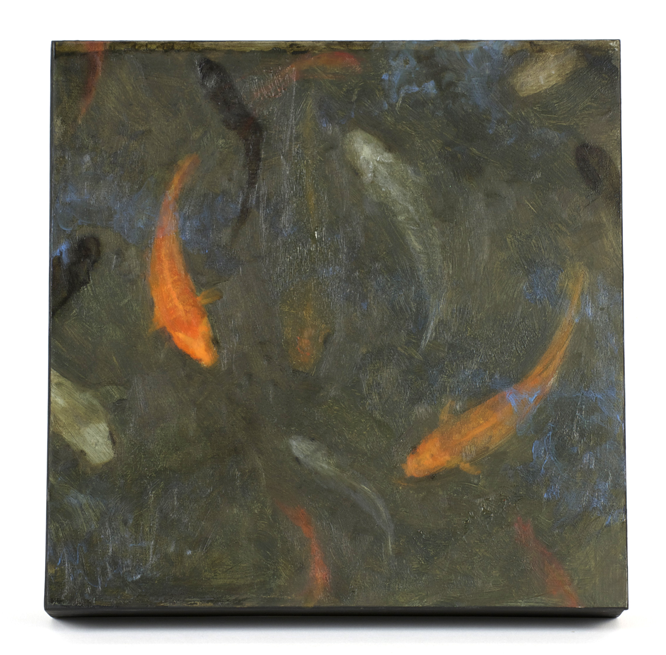 Anelecia Hannah     Depths,  2010  Oil on panel