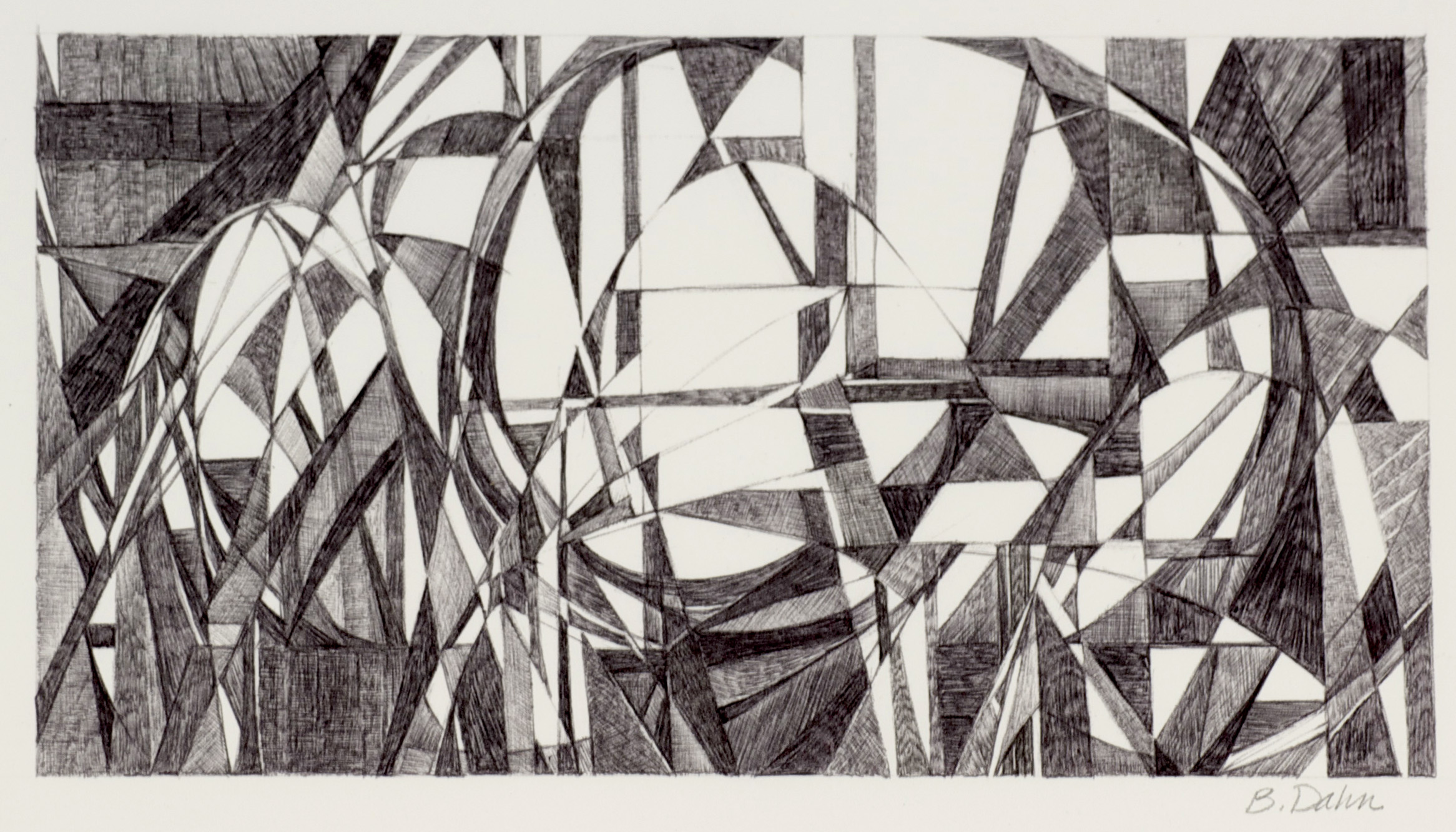 Barbara Dahn     El Parque,  2011  Ink on paper