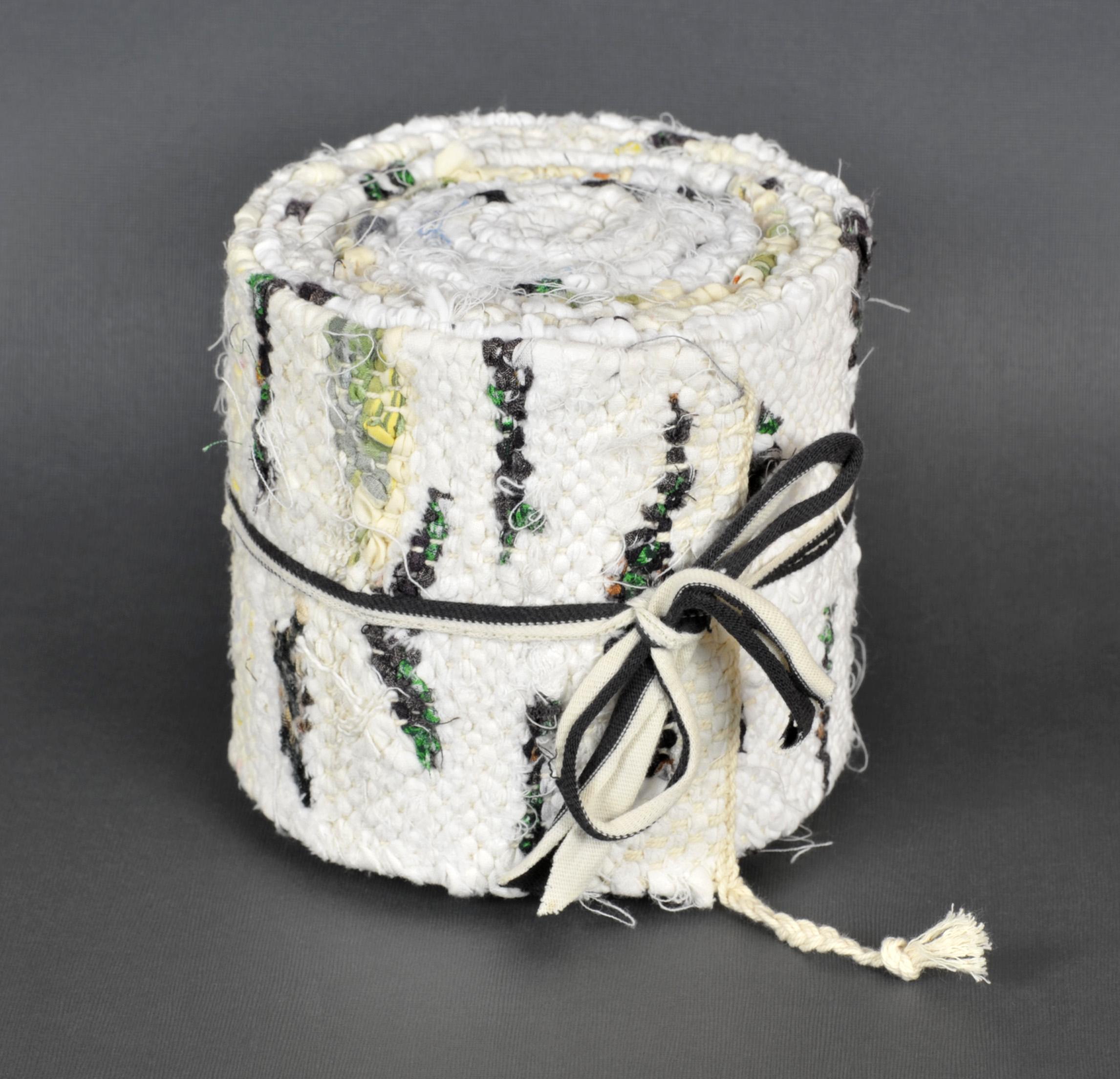 Cecilia Blomberg   Birch Roll, 3M, 2011  Tapestry