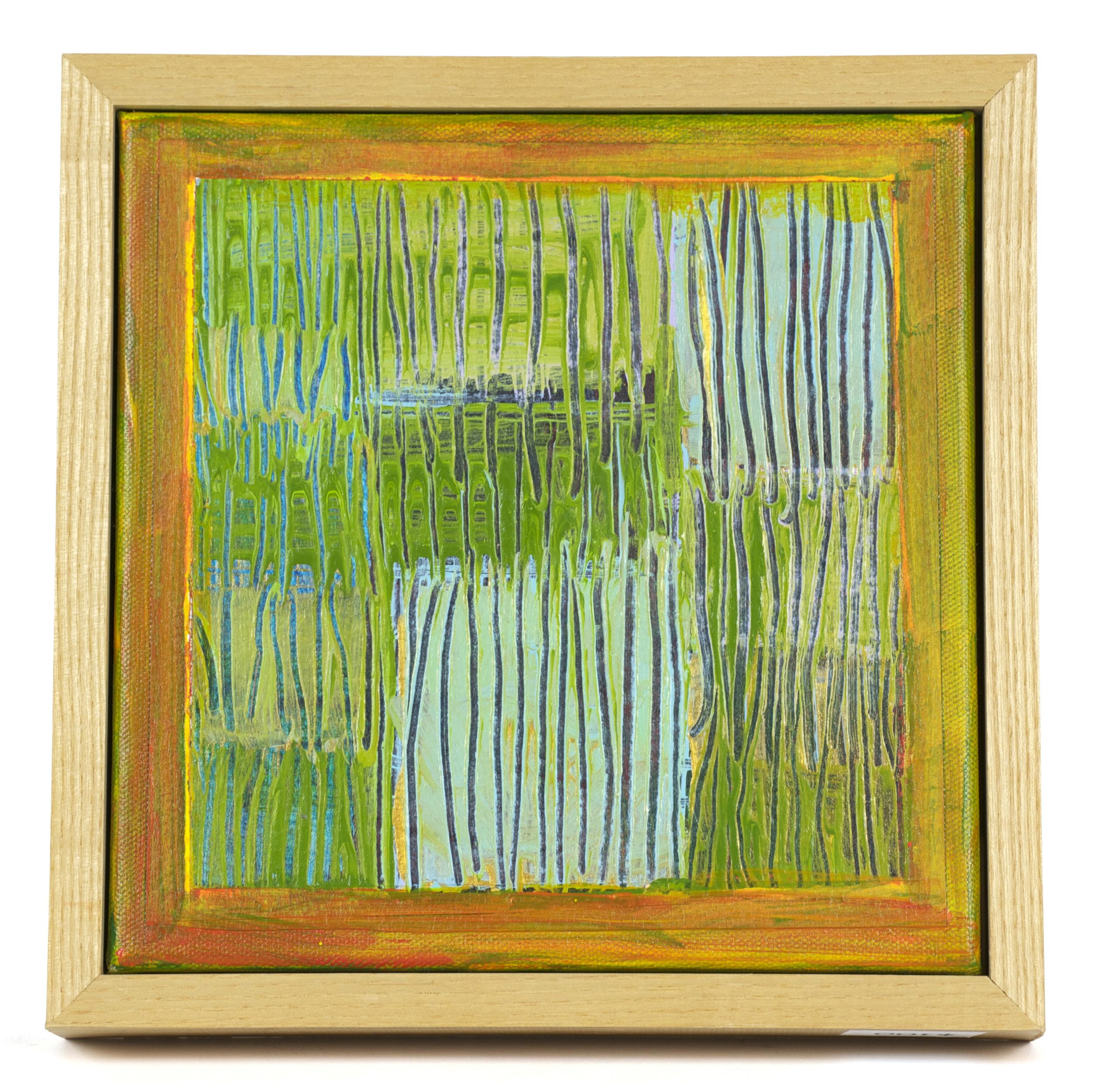 Eileen Kane     Tall Grass of Summer,   2008-10     Acrylic/canvas