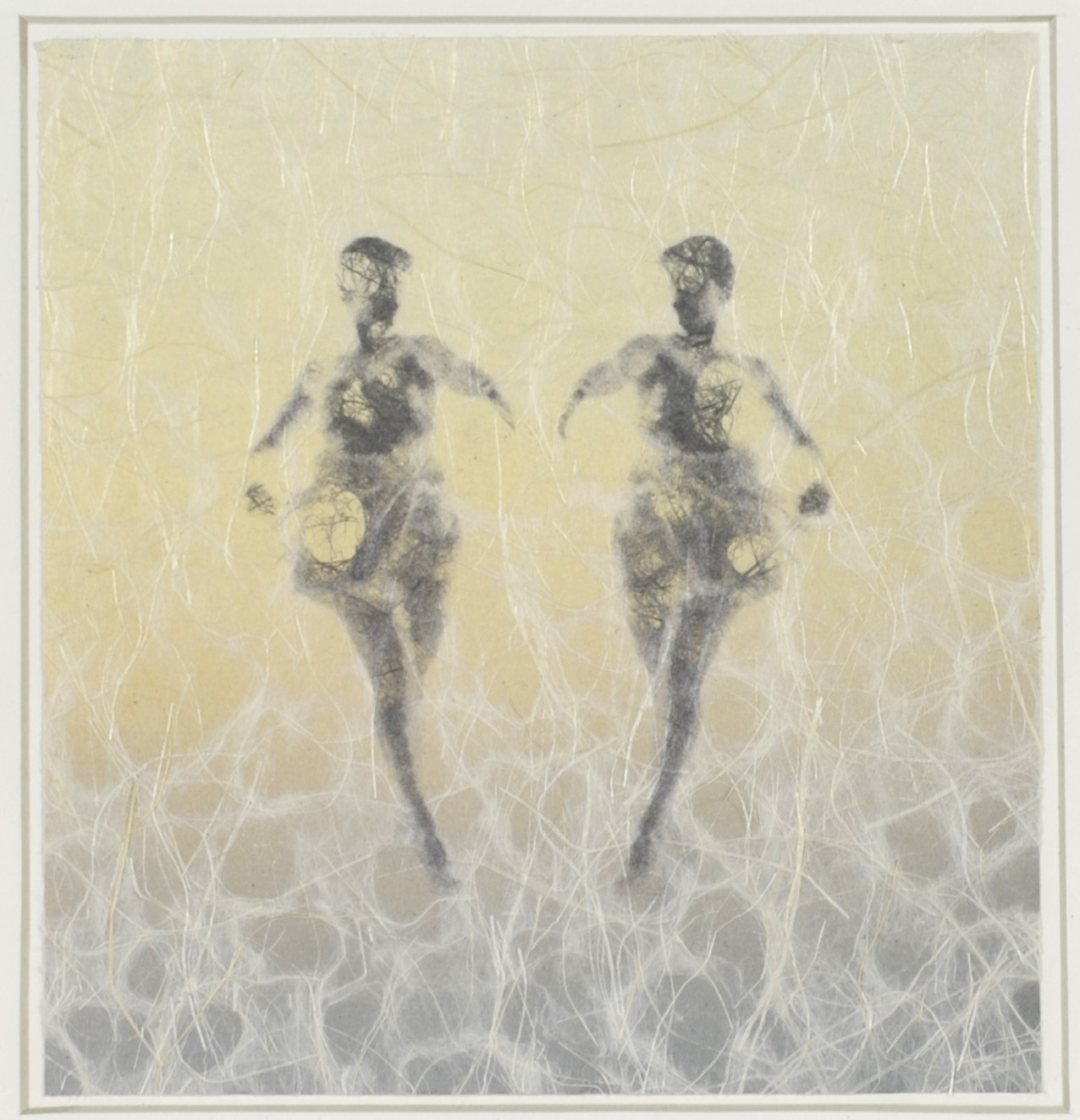 Elizabeth Woodward     An Audrey Variation , 2012  Photographic inkjet print on handmade paper