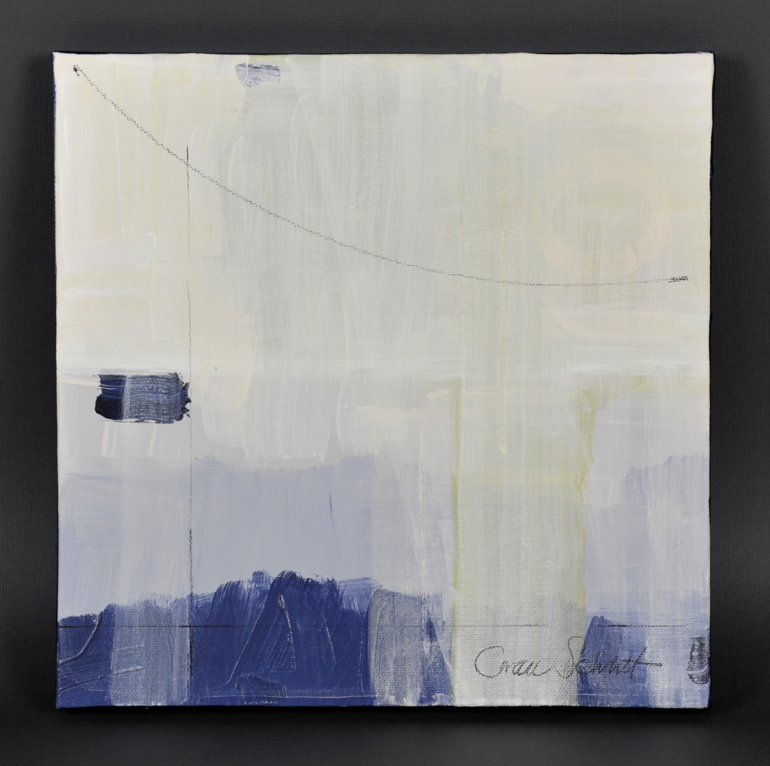 Grace Schlitt   Ten C , 2012  Acrylic on canvas