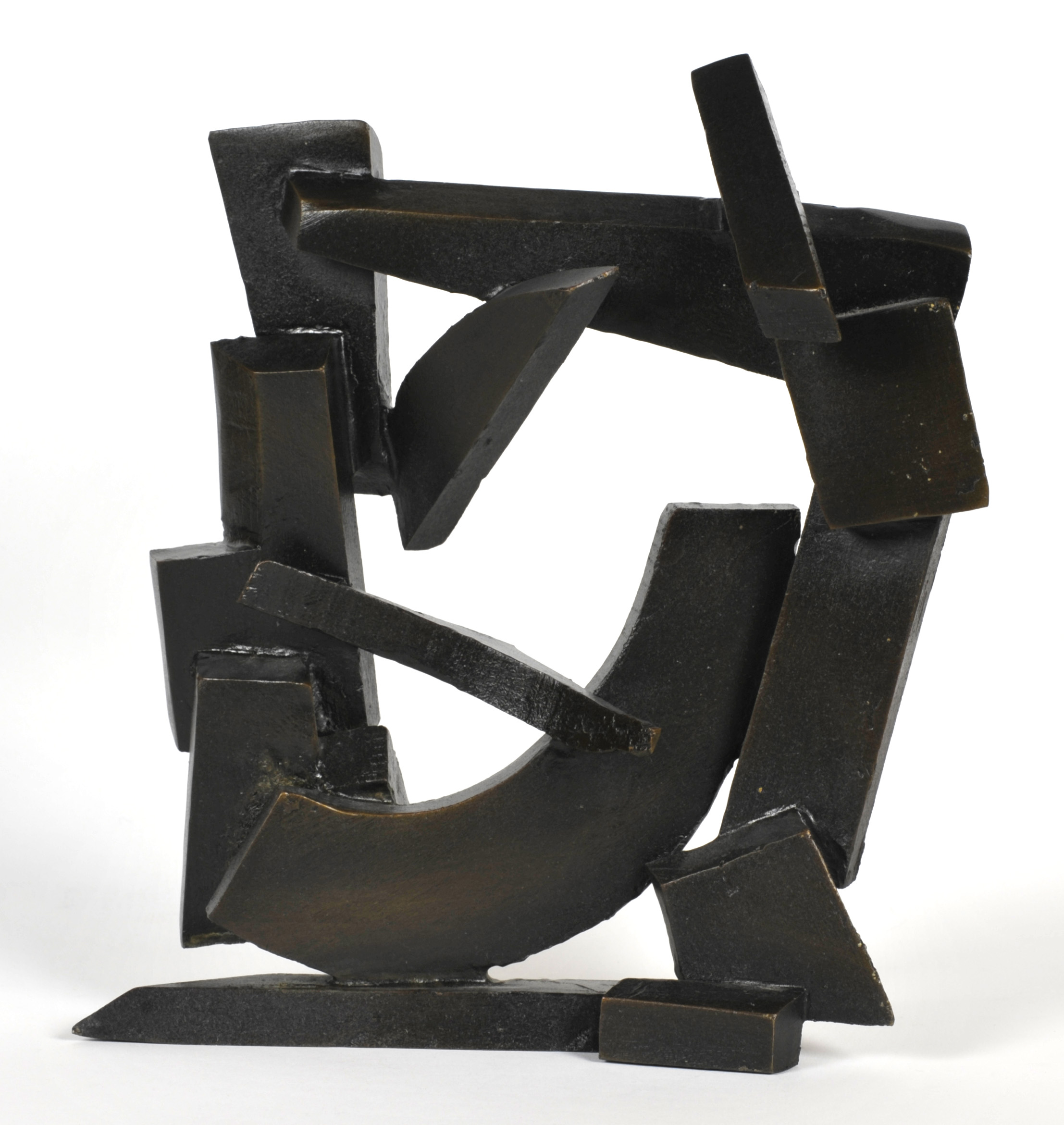 Joe McDonnell     Breaking Away Maquette,  2011     Bronze