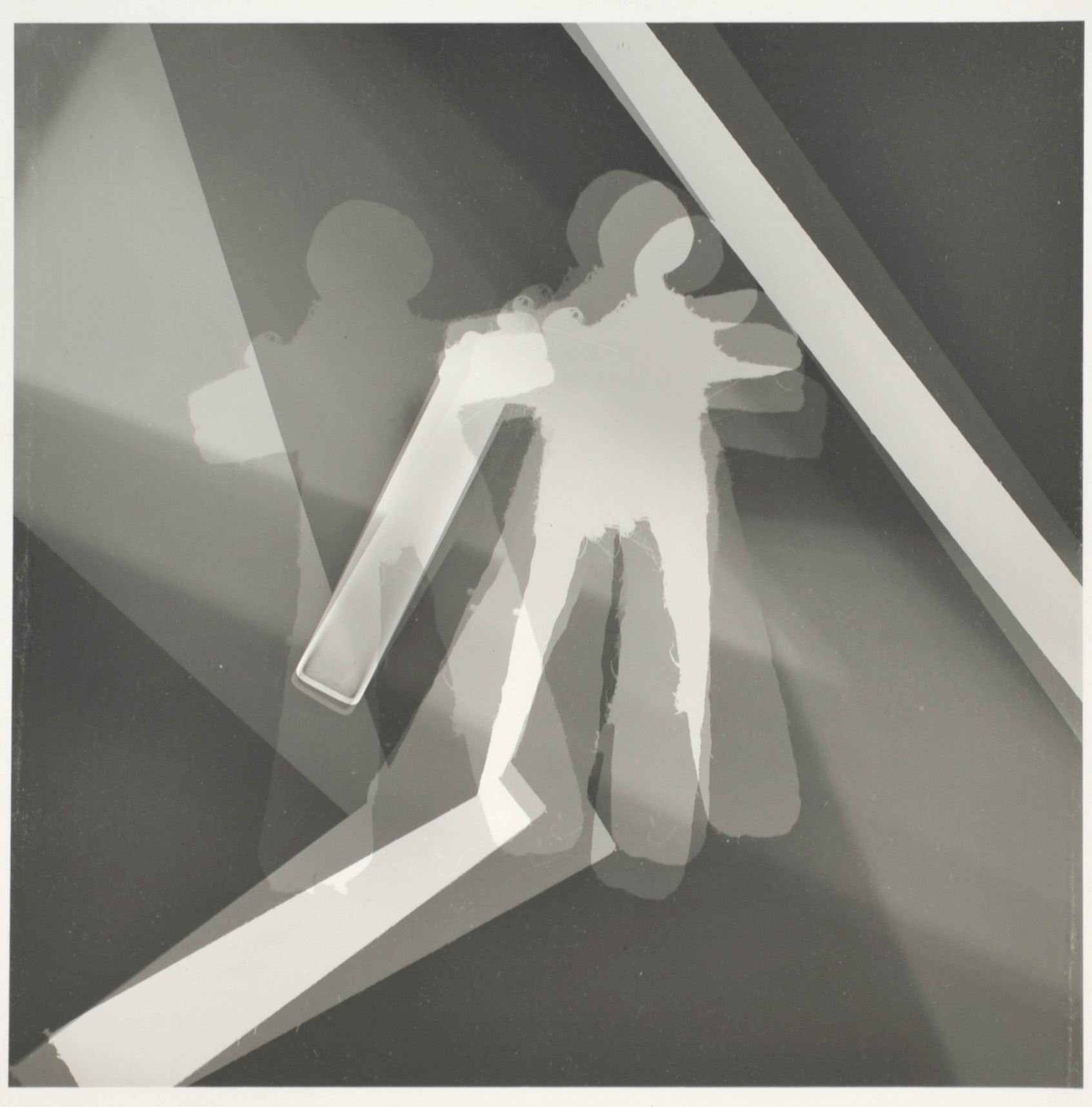 John Back     Photogram   49 , 2012  Gelatin silver print