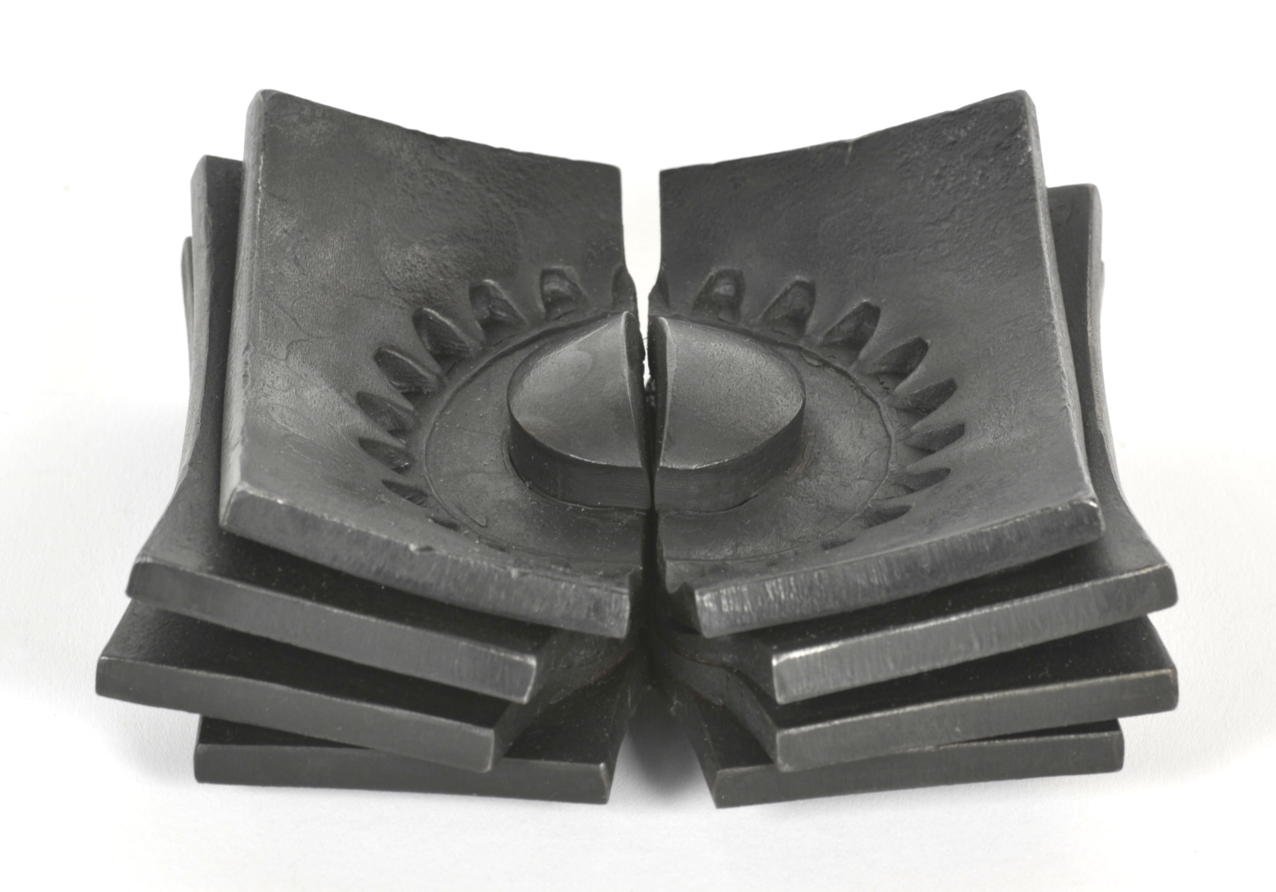 Maria Cristalli     Gear Print , 2012  Forged steel