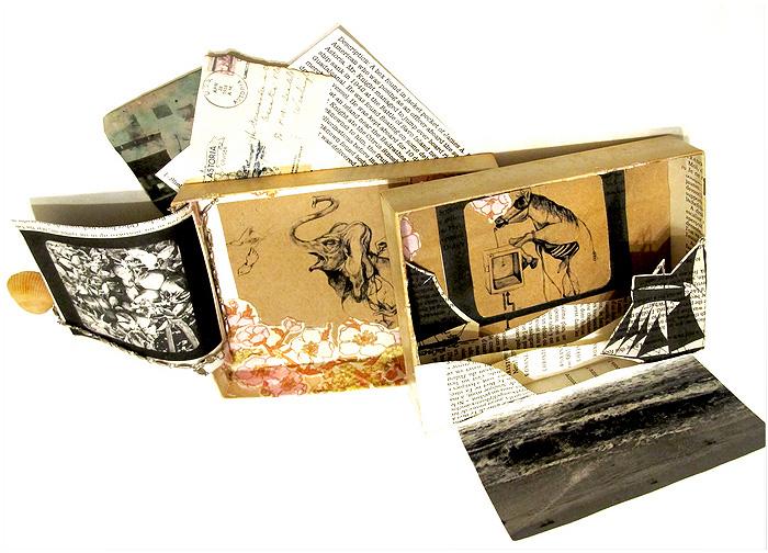 Mercedes Jelinek     The Box of James A. Knight    Mixed media box