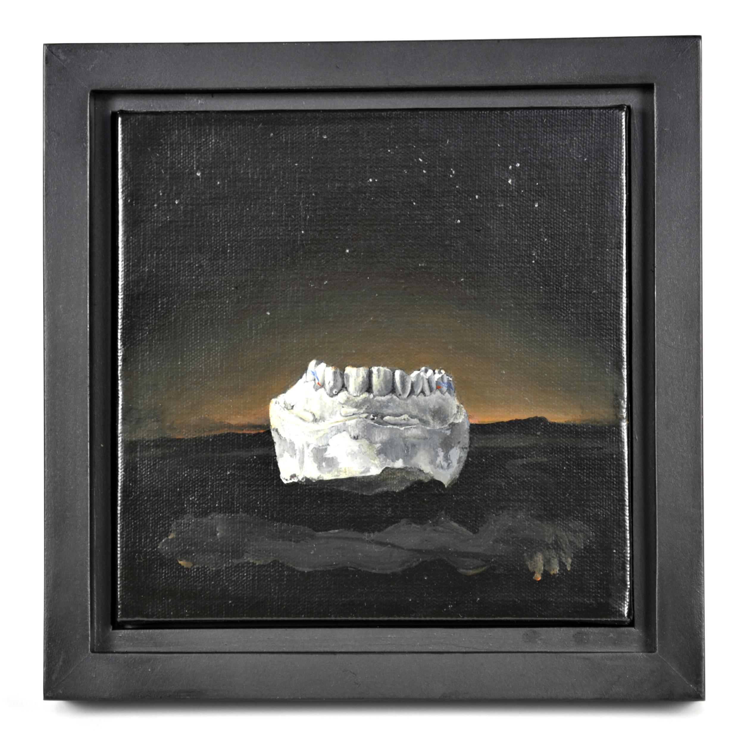 Michael Paul Miller     With Teeth   (  Elder No.  4) , 2011  Oil on canvas