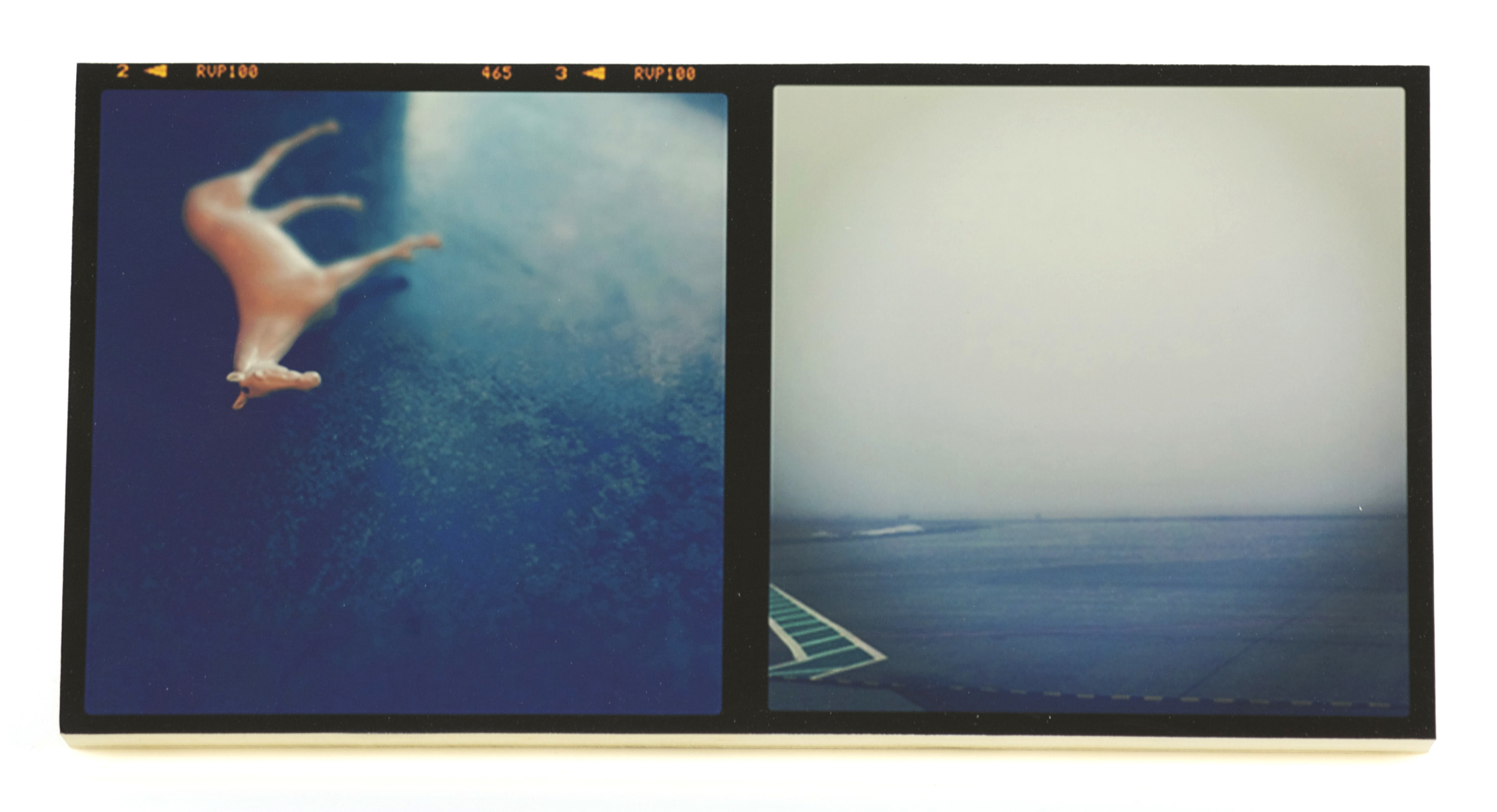 Michelle Acuff     Untitled , 2012  iPhone/digital print on board
