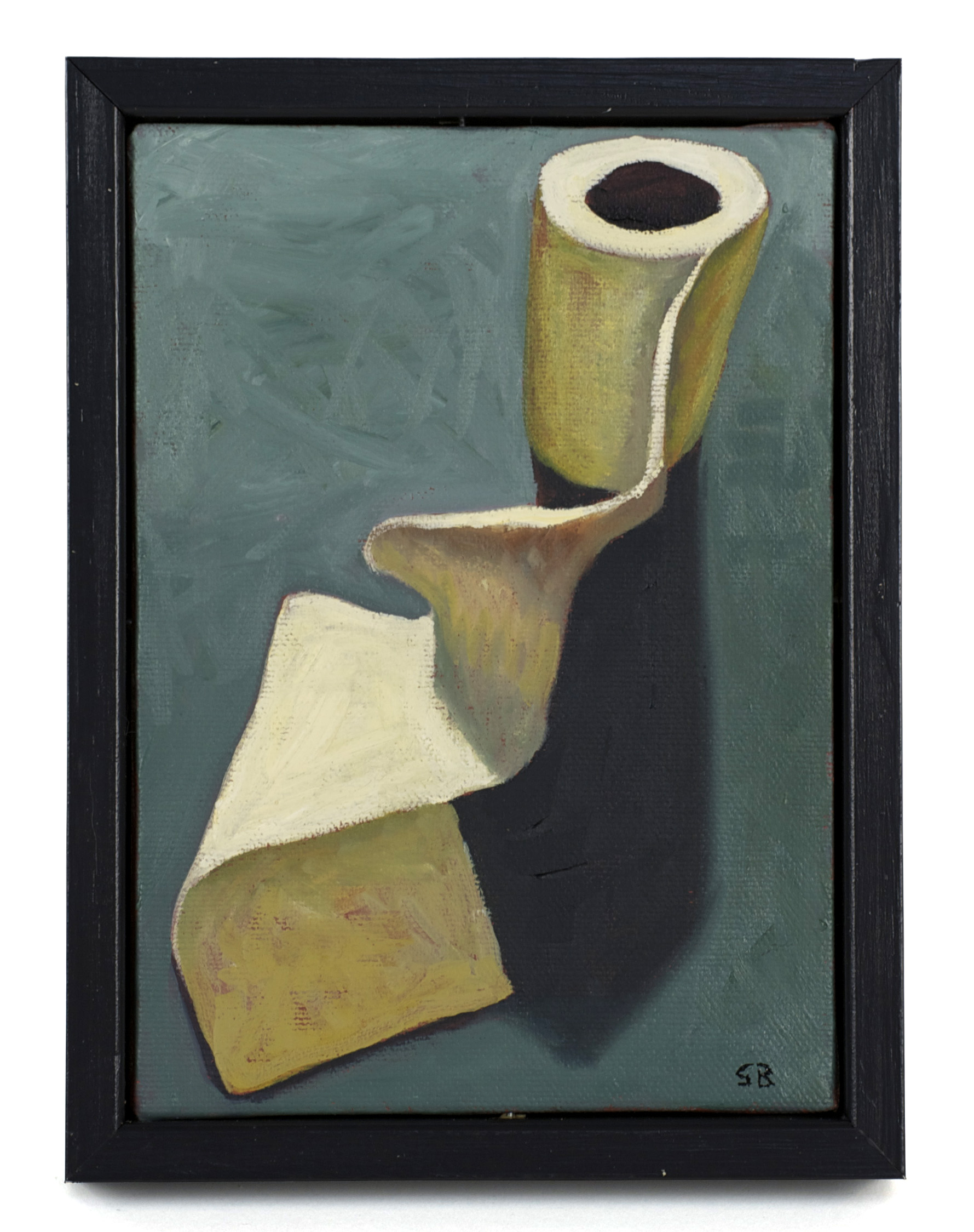 Susan Bennerstrom     Unroll , 2009  Oil on canvas