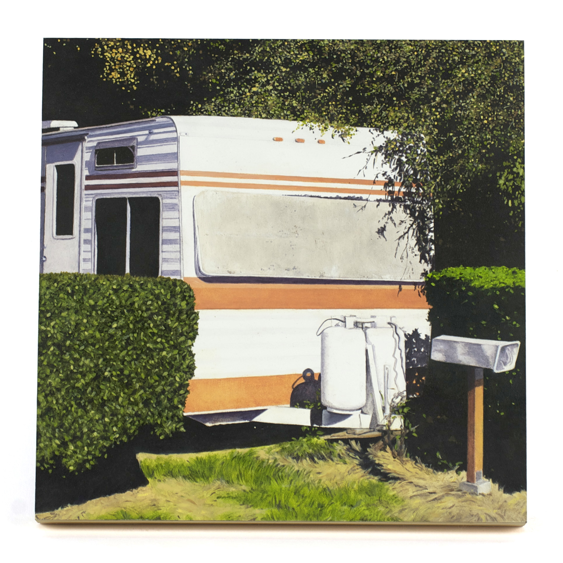Terry Leness     Home Delivery , 2010  Oil on panel
