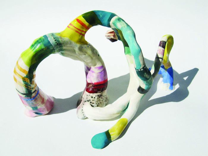Liz Tran      Creature Two , 2011     Glazed ceramic