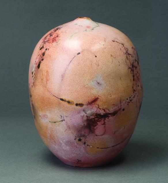 Jean Wender      Haiku Vessel , 2011     Ceramic