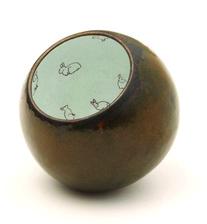 Lena Reifinger      Endogenous , 2014     Copper, enamel