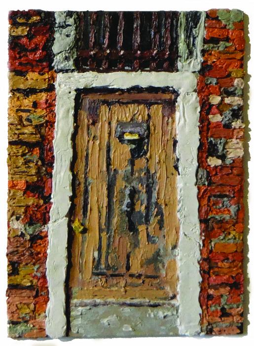 Brantly Sheffield      Venetian Door , 2013     Oil