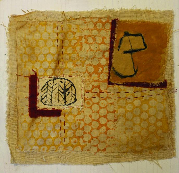 Mikela Naylor      Untitled 2 , 2014     Mixed media