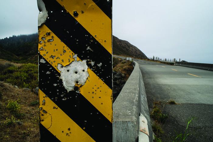 Janet Neuhauser      Near Cape Mendocino , 2013     Digital photograph