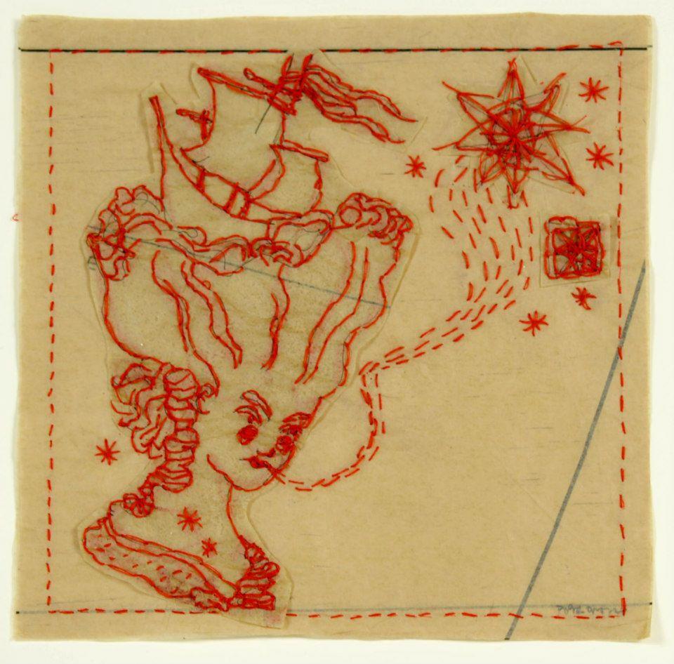 Piper O'Neill    A Fair Ship    Tissue and thread