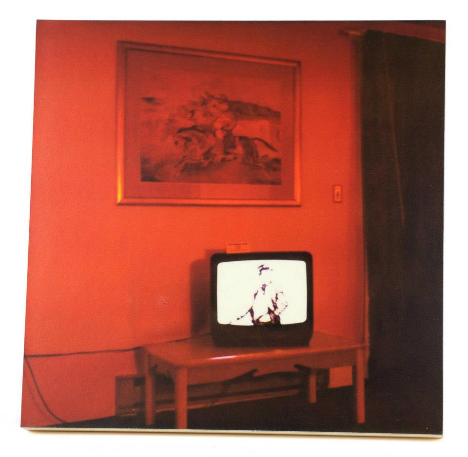 John Kane    In the Red Room    Enlarged polaroid/SX-70