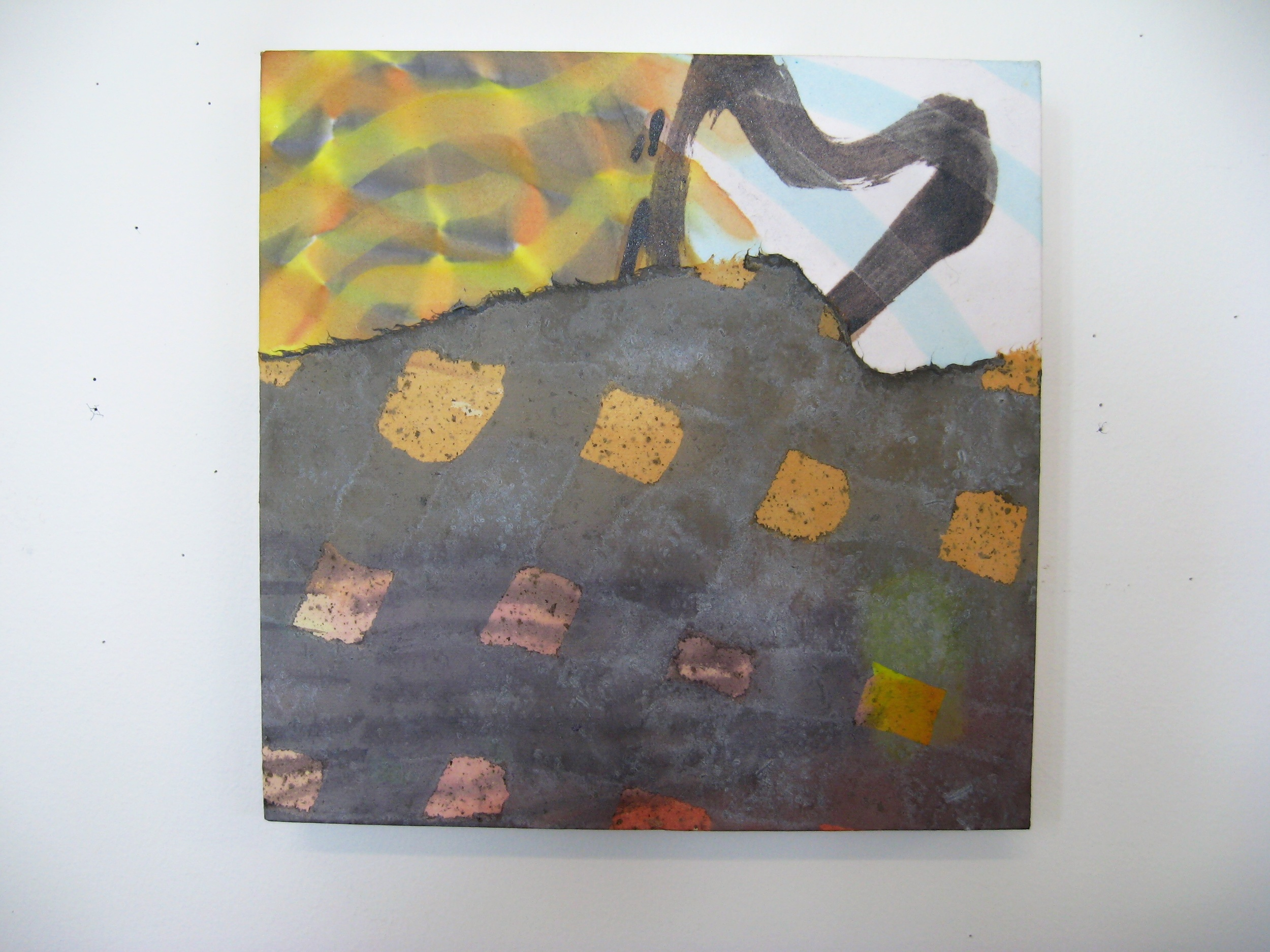 Nola Ahola   Untitled (3) , 2009  Acrylic on canvas