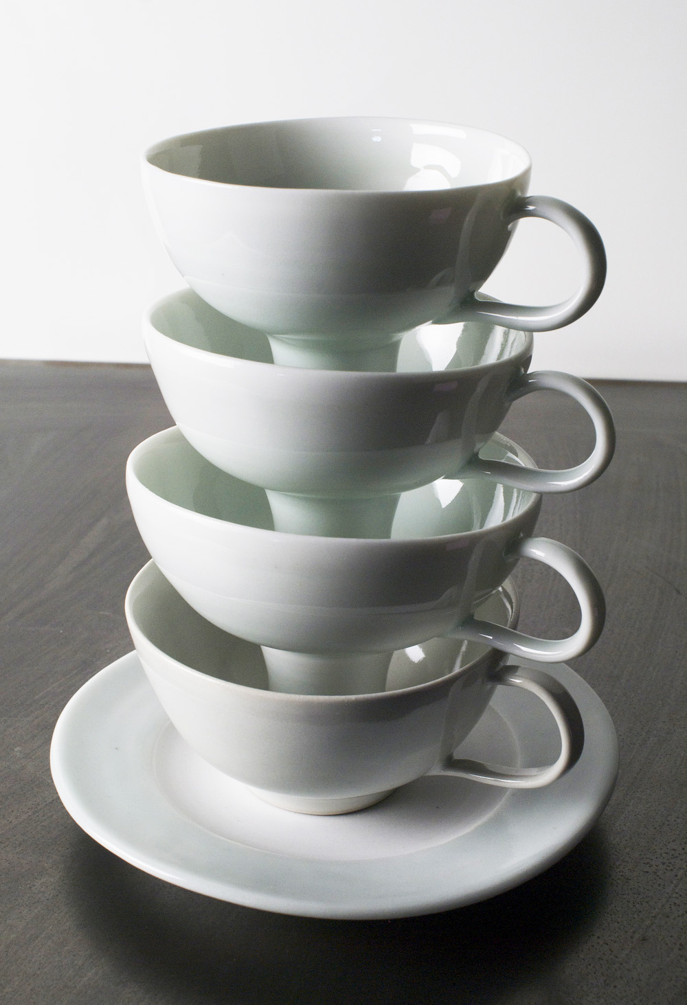 Lois Harbaugh   Stack , 2010  Cone 10 porcelain