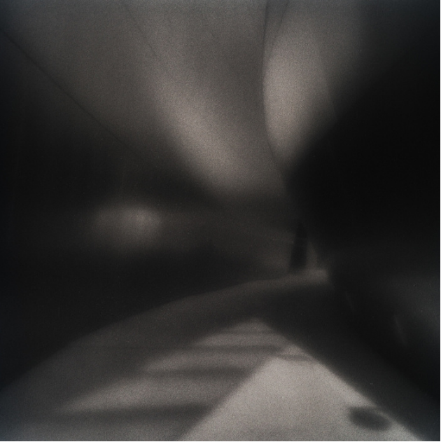 Jane Alynn,  Waves of Steel #1 , 2014.   zone plate photograph, gelatin silver print    10 x 10 in.   $375