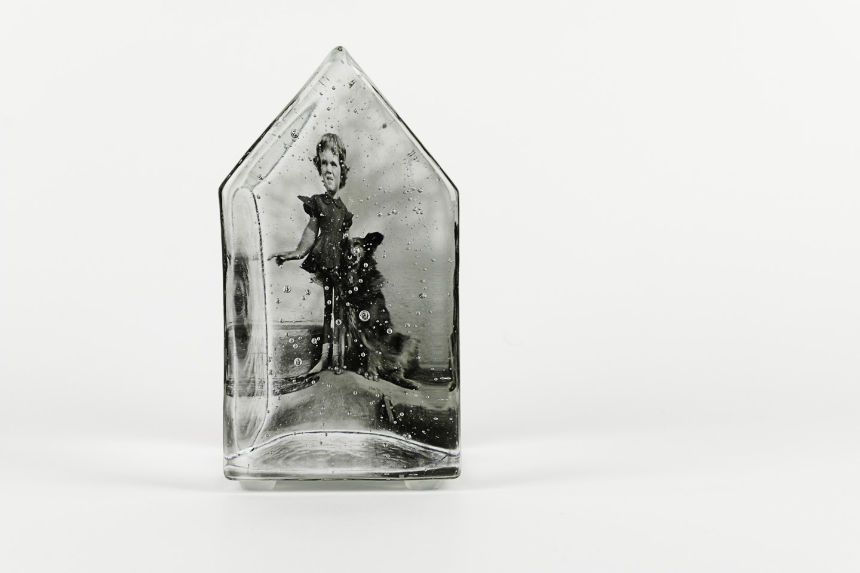 Teresa Batty  How the West Was Won, 2011  Photo-sensitized cast glass
