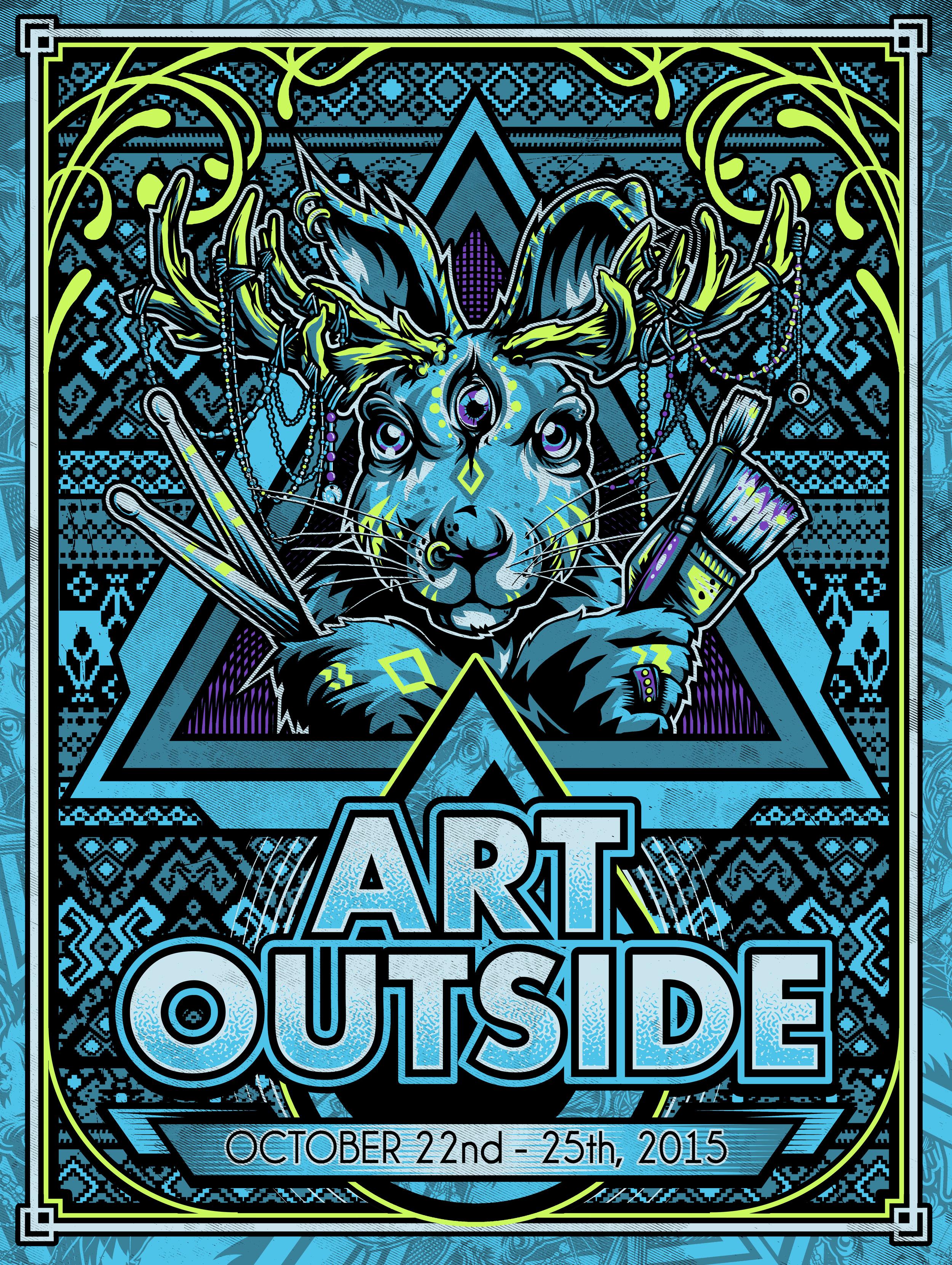 Art Outside Screenprint