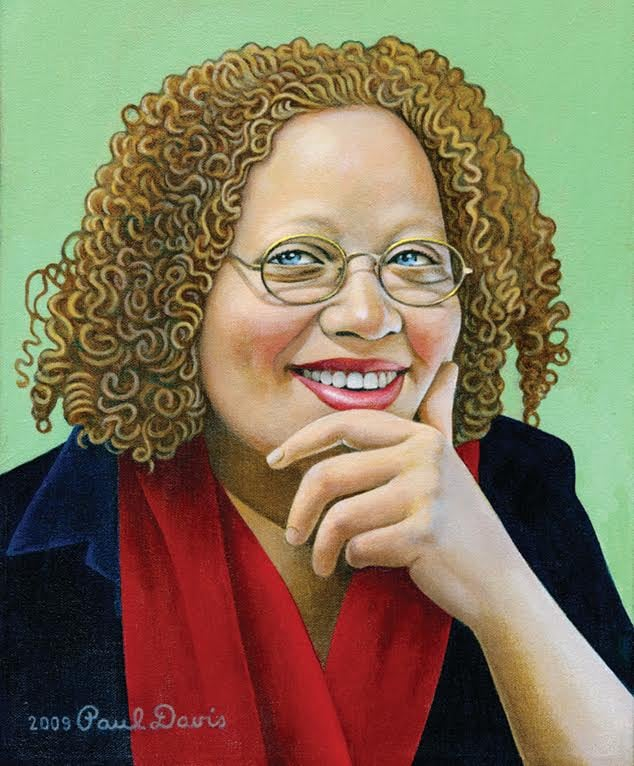 Portrait of Gail Anderson, by Paul Davis