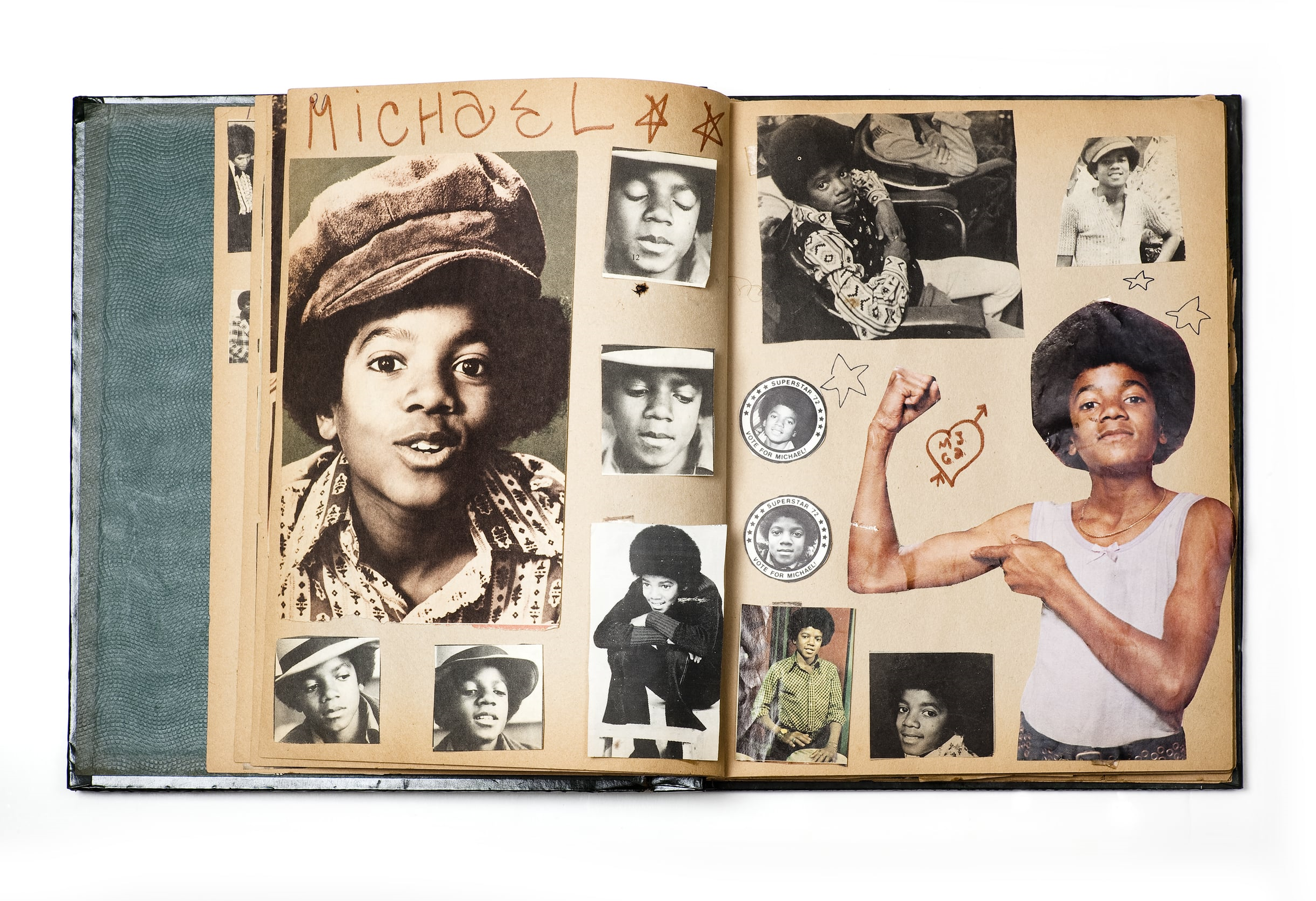 Jackson Five scrapbook, 1972