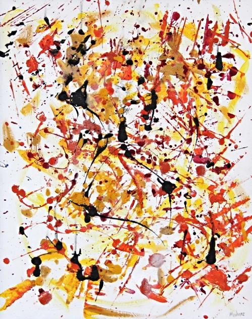 16 x 20  acrylic on canvas  Sold