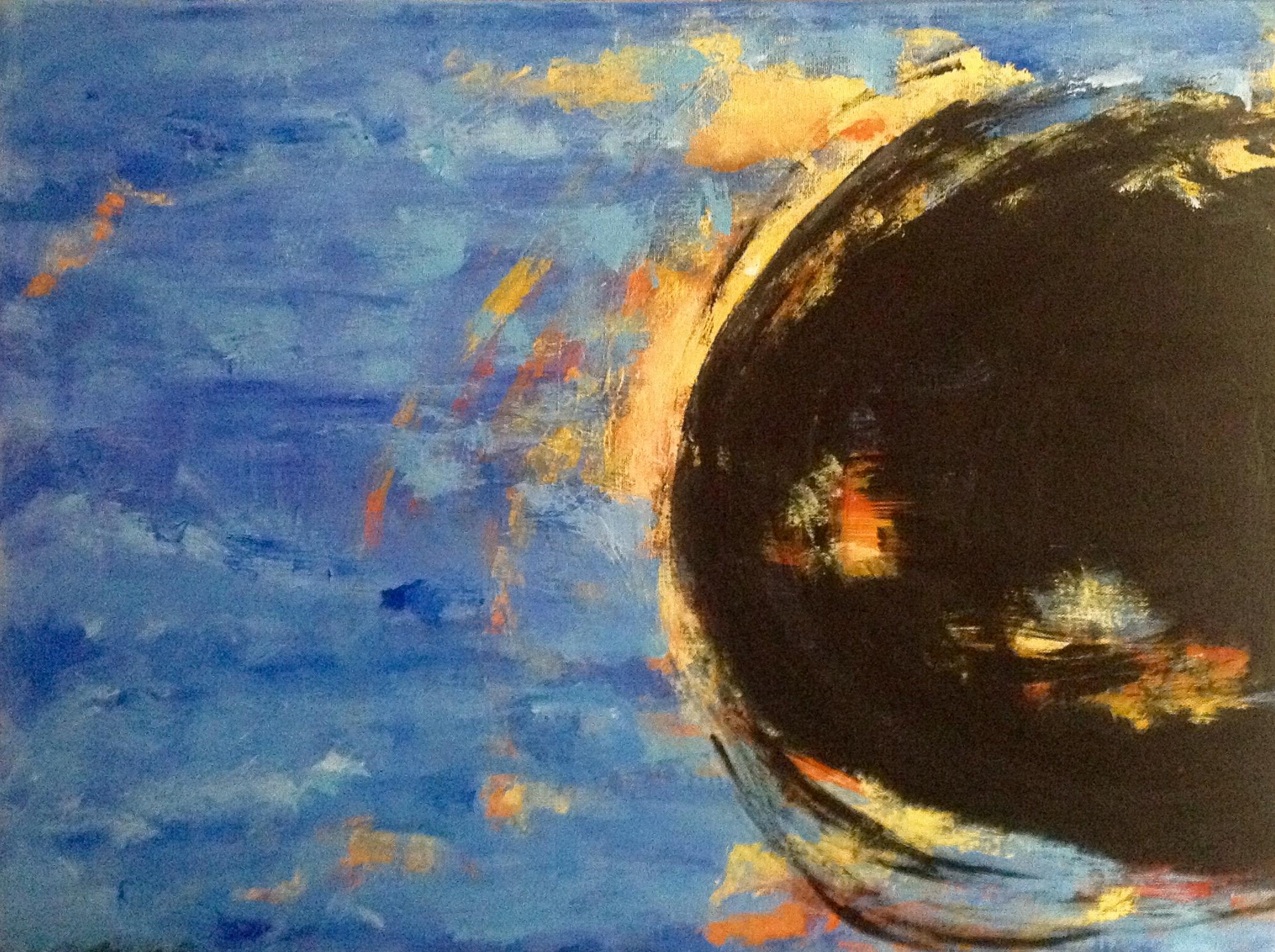 left side of black moon