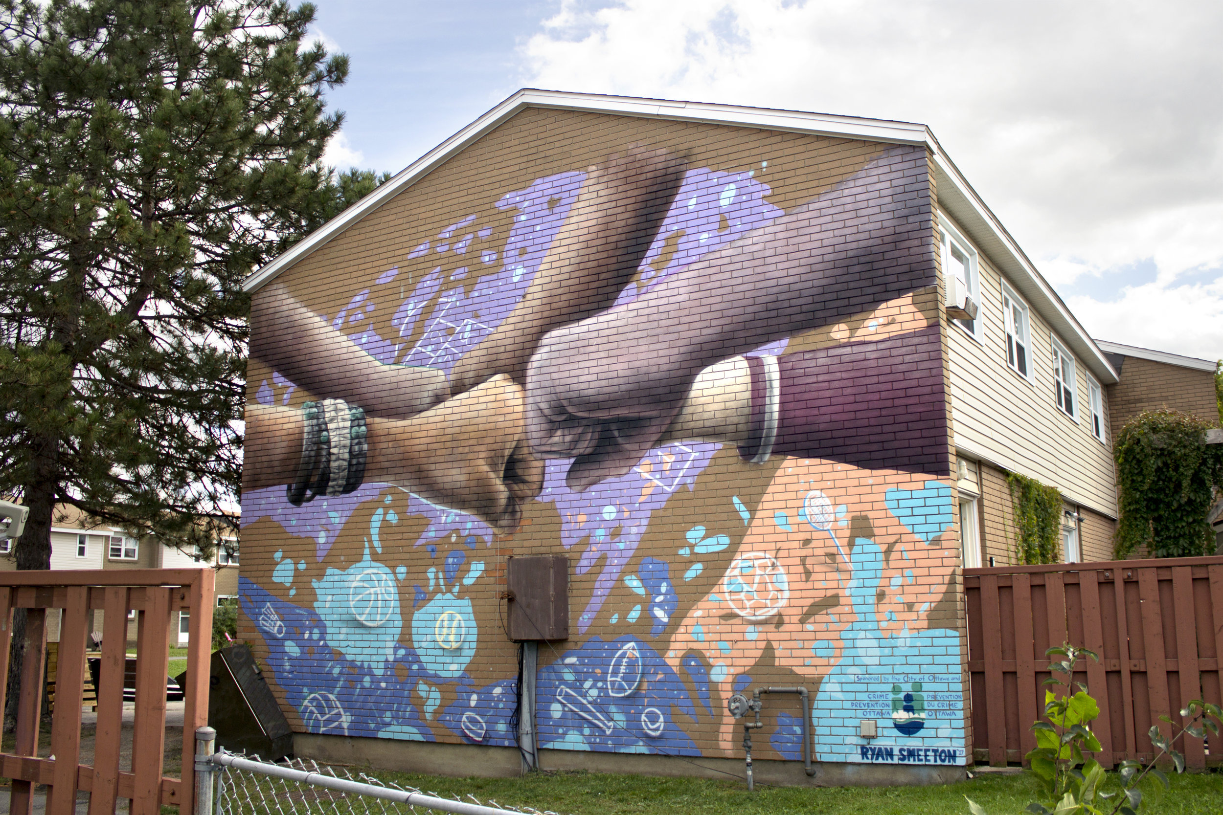 Mural for the Banff Avenue Community House