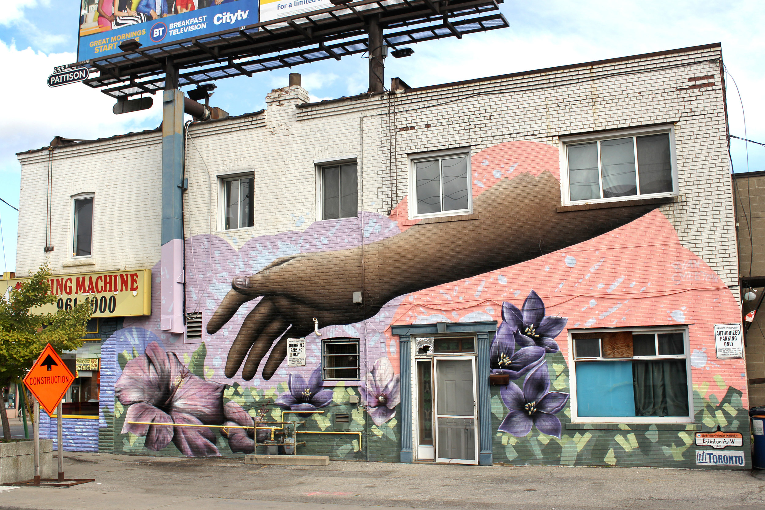 Together We Grow, Mural for the York Eglinton BIA
