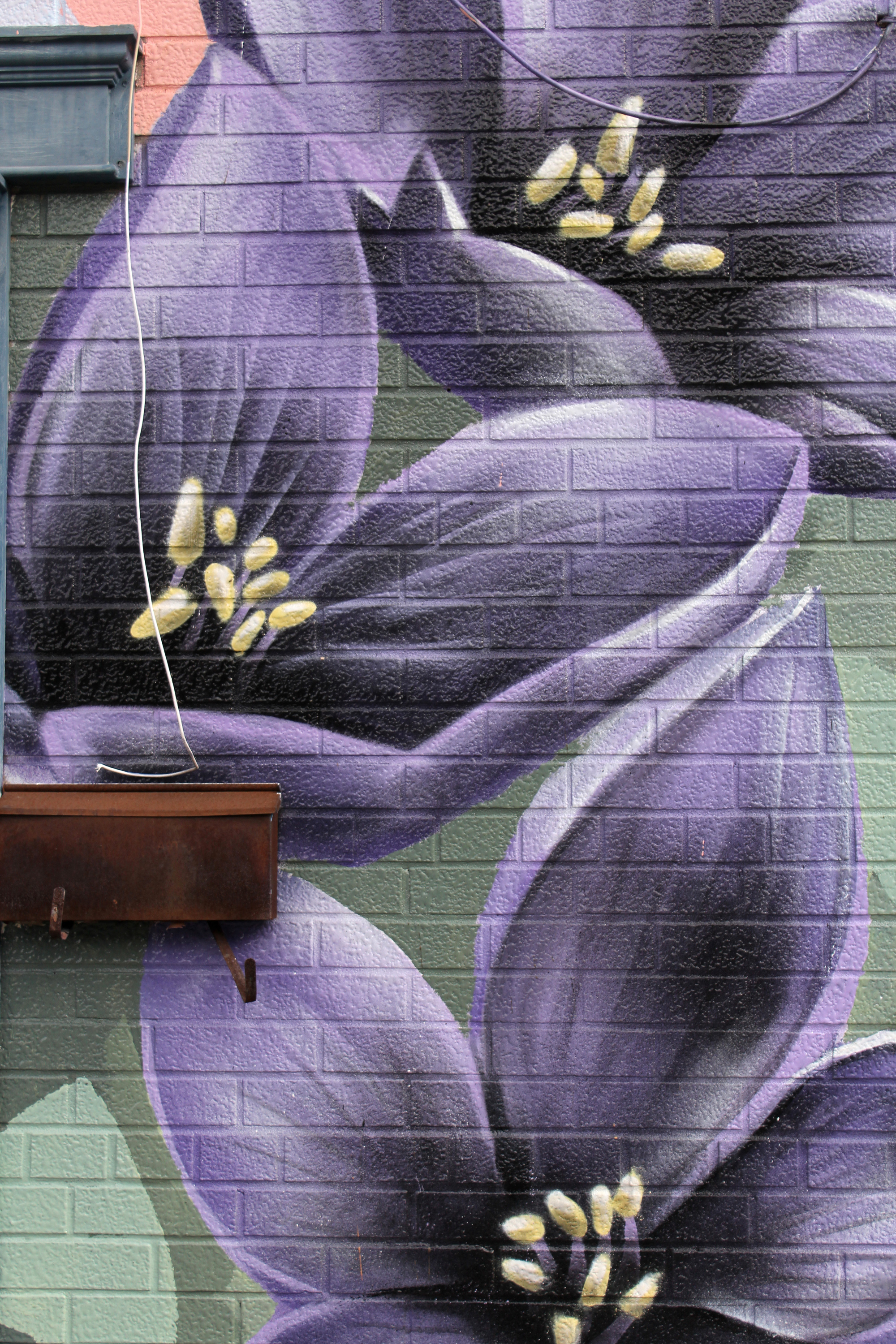 Together We Grow, Mural for the York Eglinton BIA (detail)
