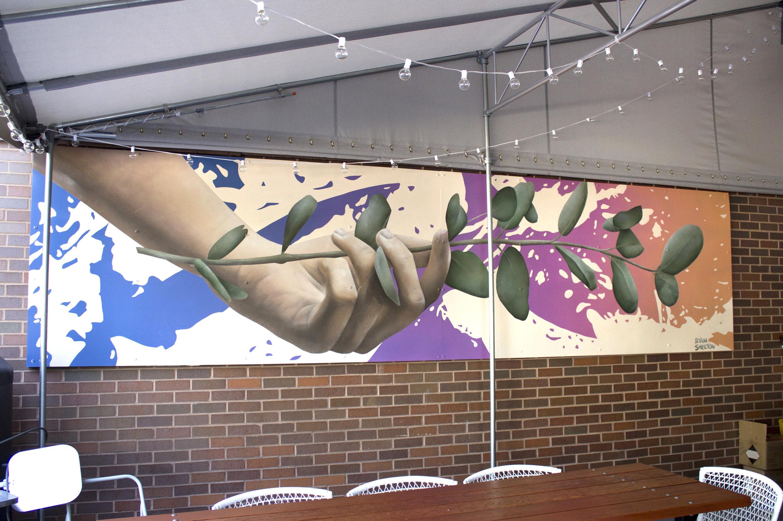 Mural for Marin Urban Beer Garden
