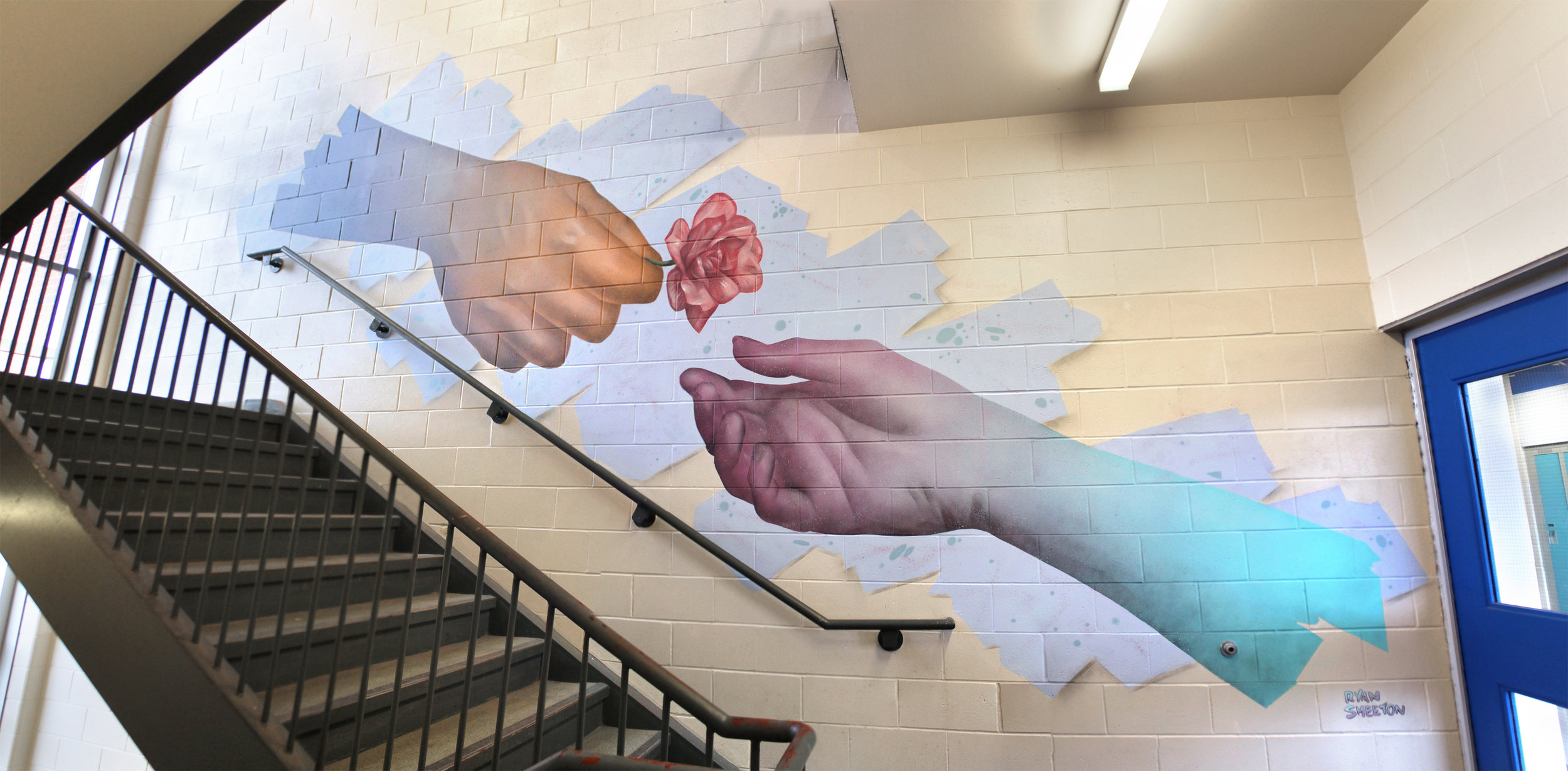 Mural for St. Peter High School