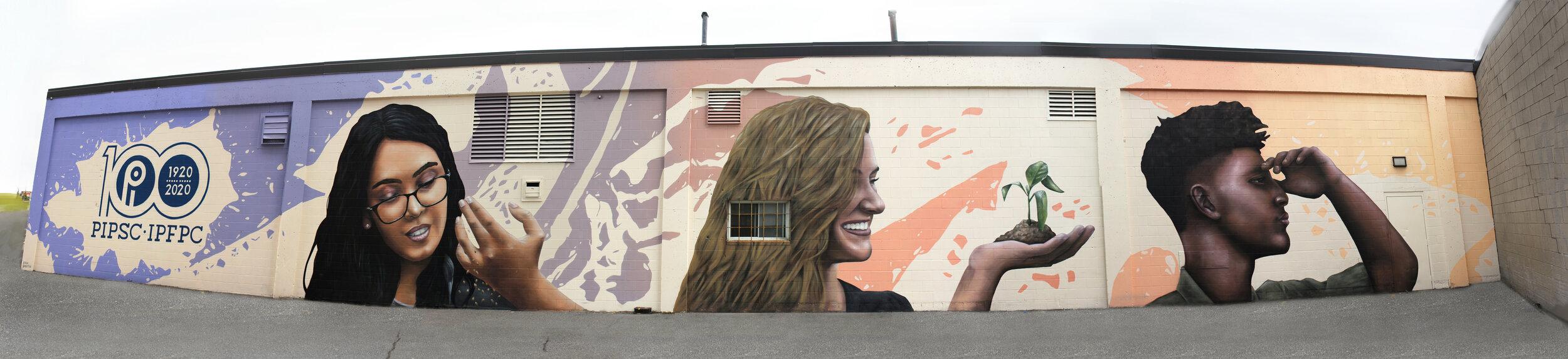 Mural for PIPSC