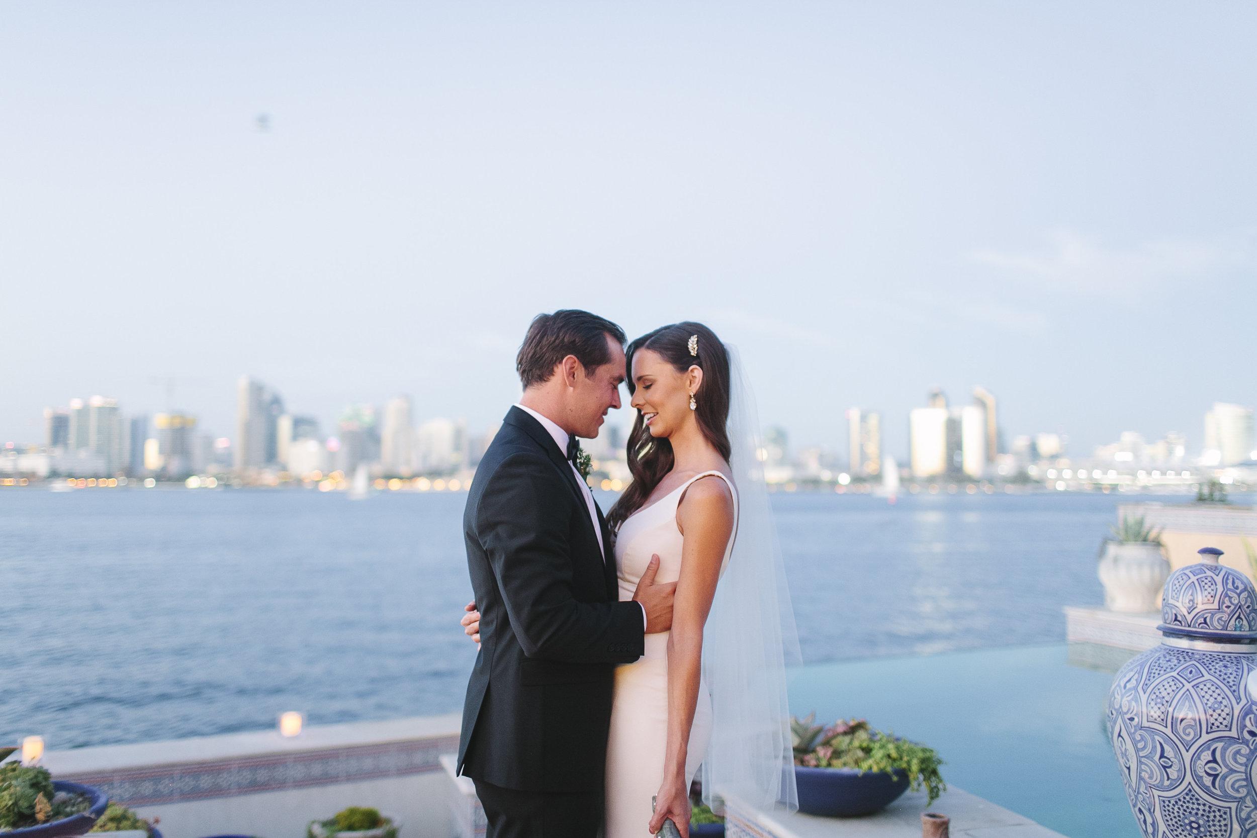 Blair & Kelley | Coronado Private Estate Wedding