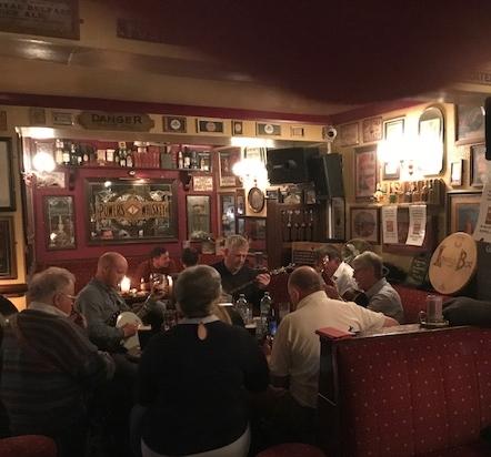 Lowery's Pub in Connemara. Music starts at 10PM every night.