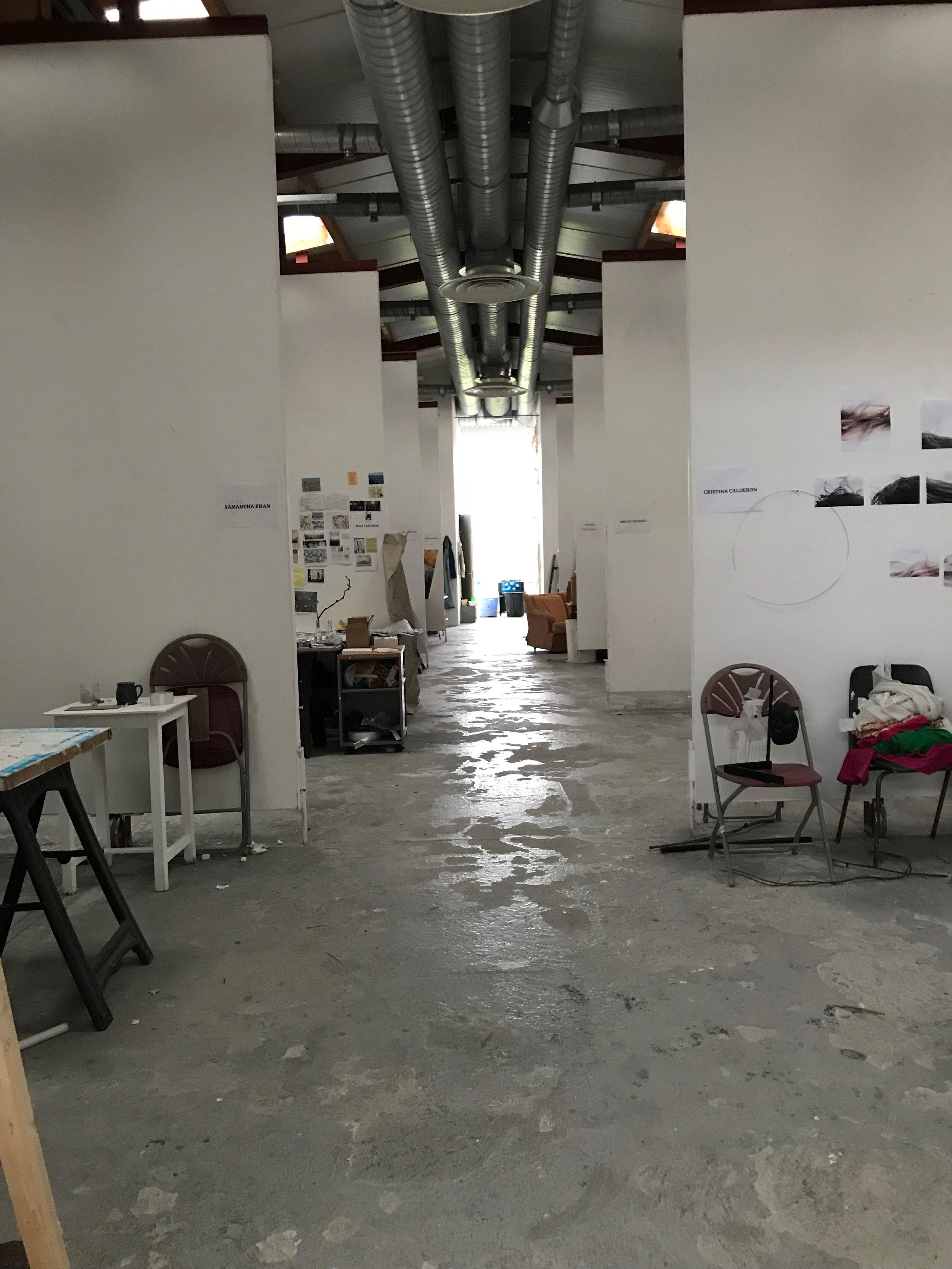 Studios at The Burren College of Art