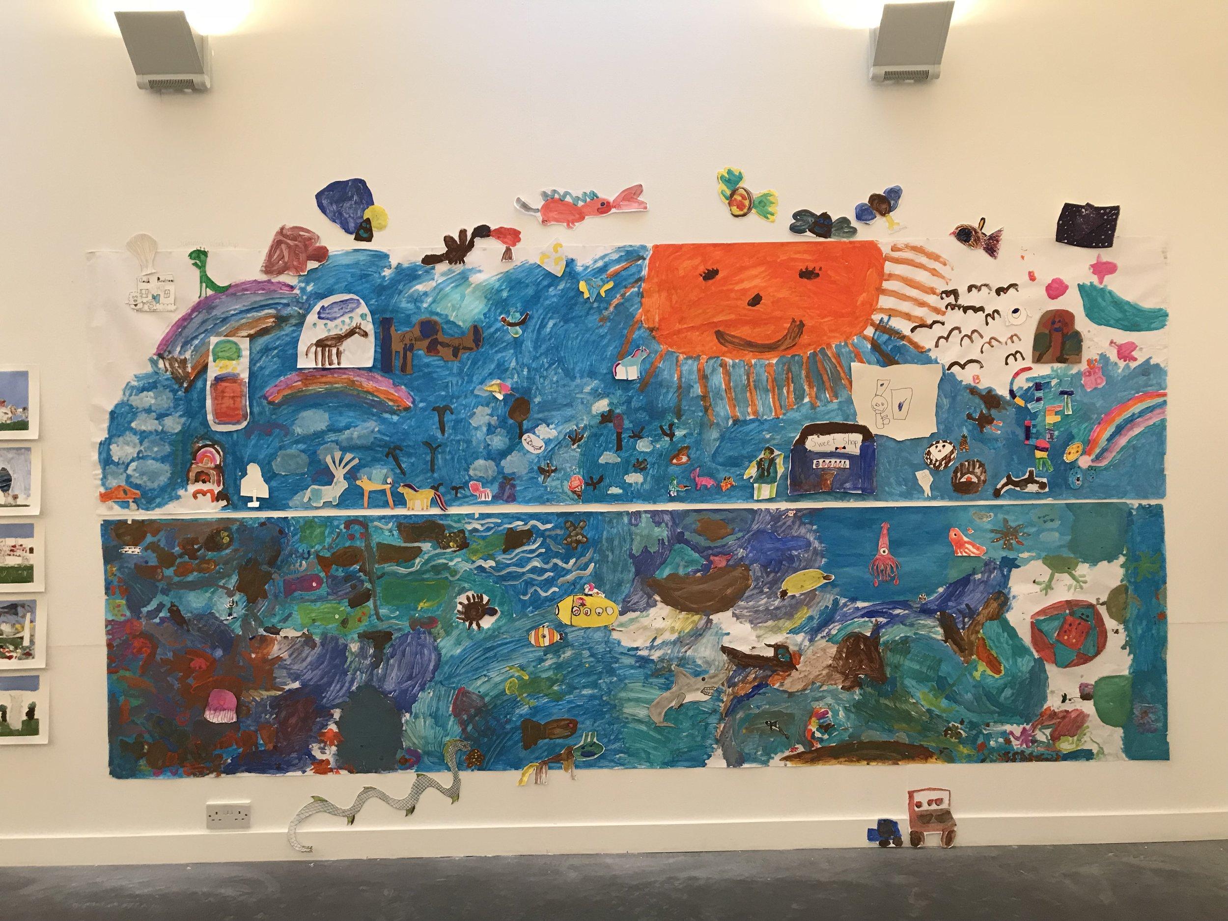 One classroom's collaborative work