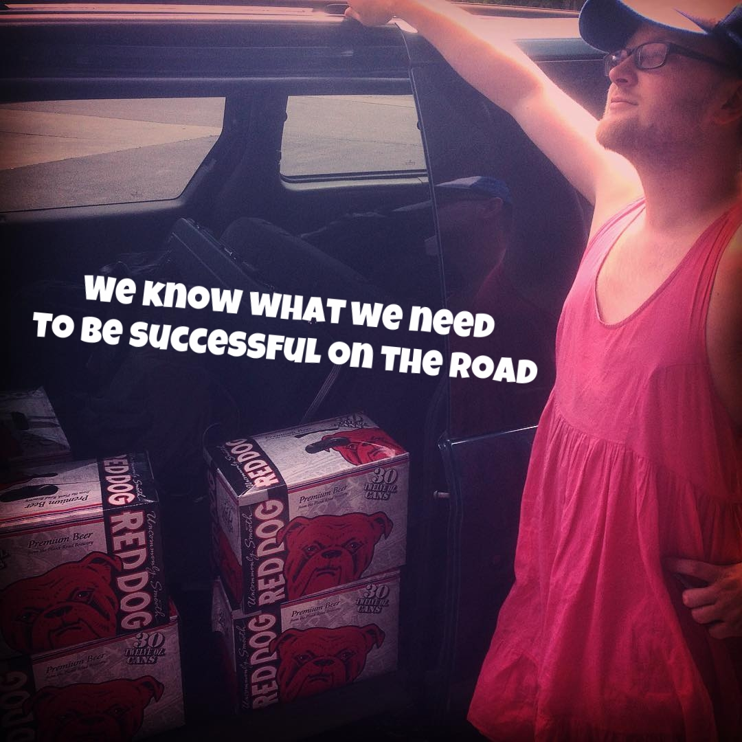 We know what we need to be successful on the road.