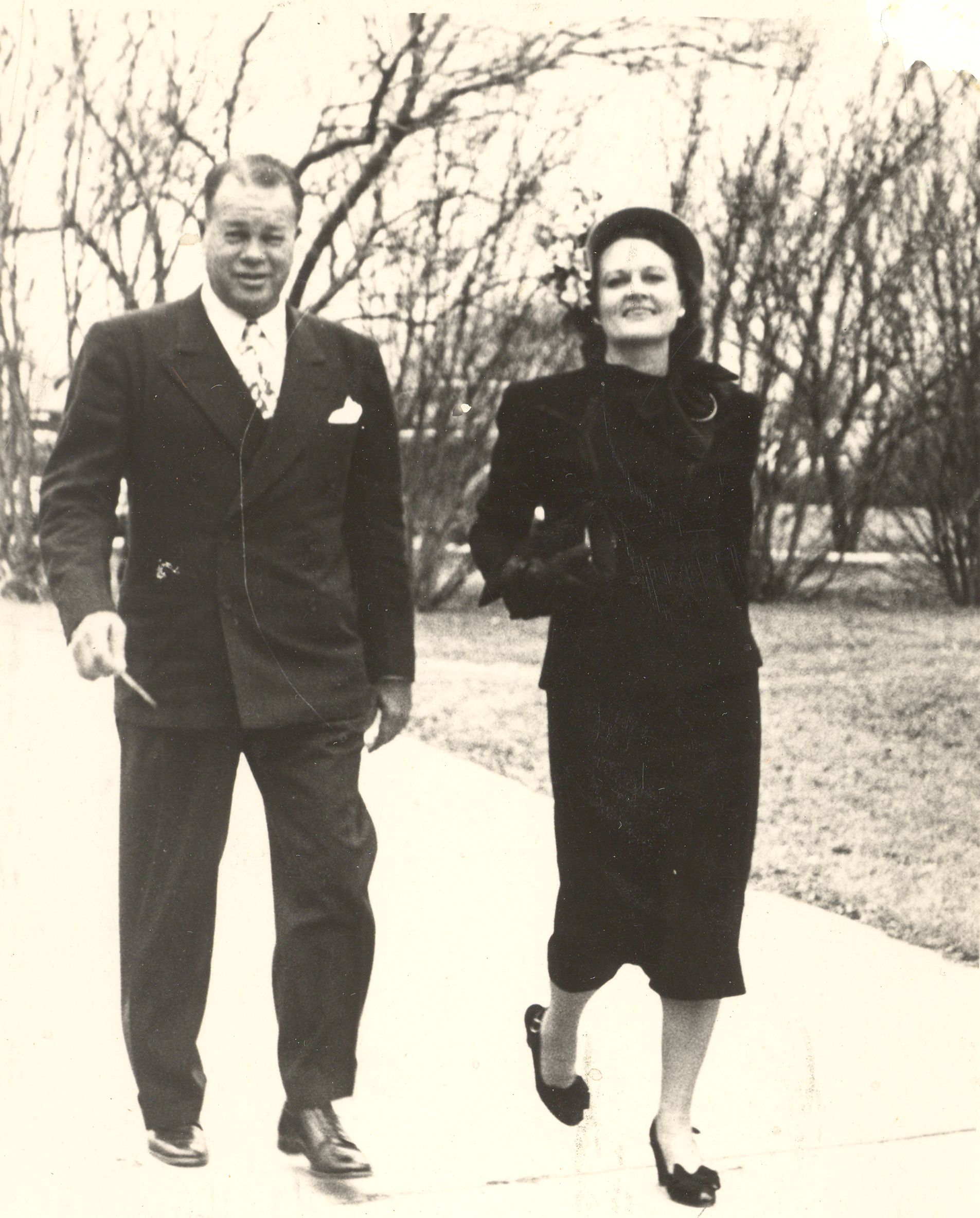 William Reilly Nail, Sr. (1903-1958) and wife Wyldon Burgess Nail (1907-1986) in Fort Worth, ca 1950s