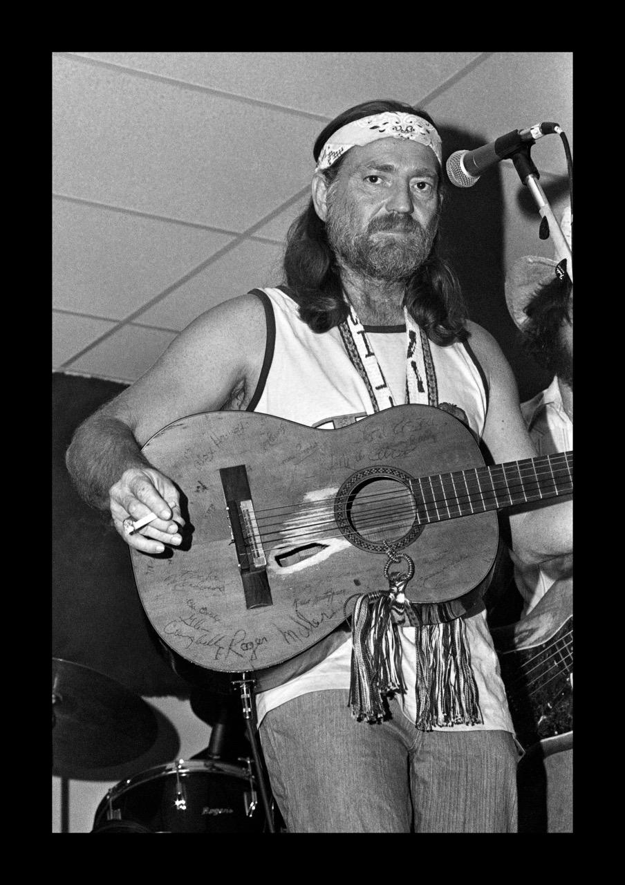 WATT CASEY JR  Willie Nelson, Austin Opry House, c. 1977 Photograph Courtesy of the artist