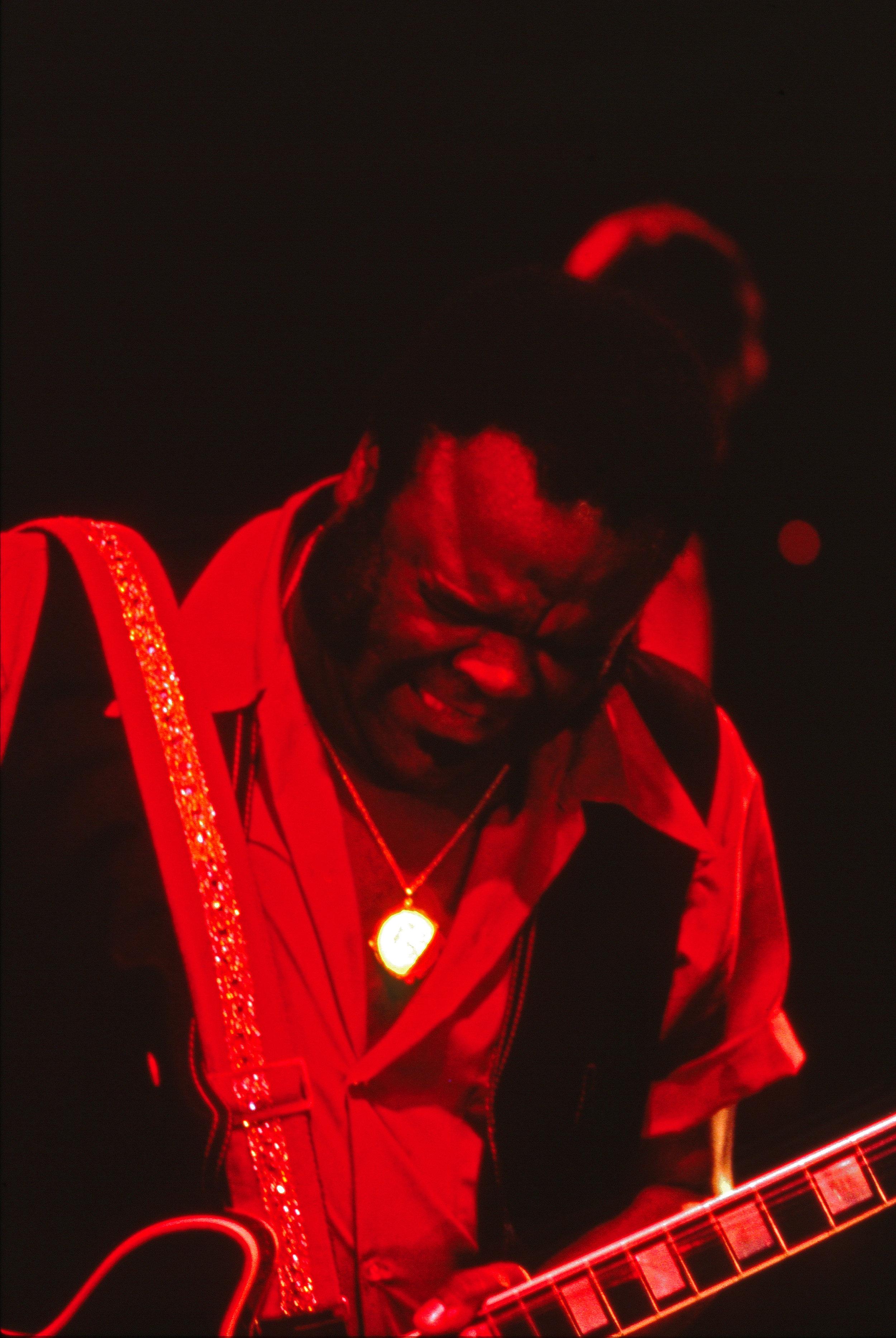 WATT CASEY JR, Dallas Native Freddie King, Buffalo NY 7-6-1976. Color photograph. Courtesy of the artist.
