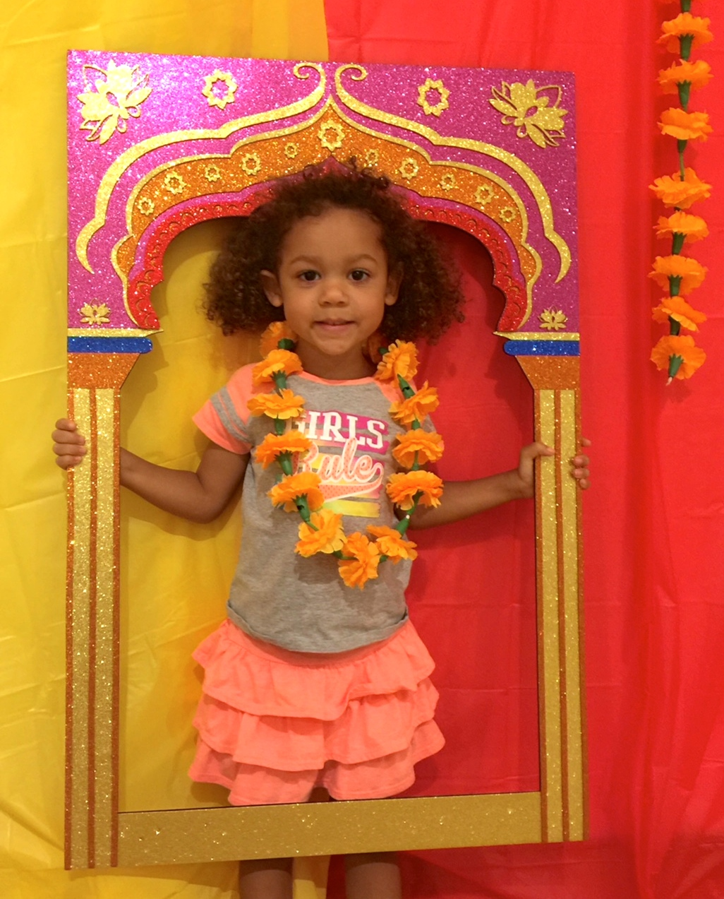 Photo Booth at Diwali Festival